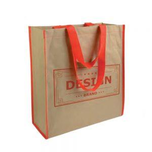 Shopper bicolore in carta personalizzata