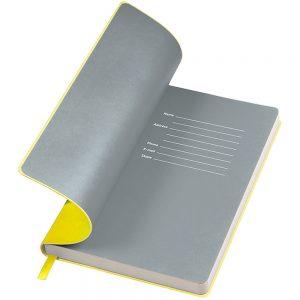 Notebook con copertina bicolore personalizzata