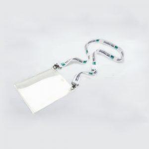 Lanyard personalizzato con doppio moschettone