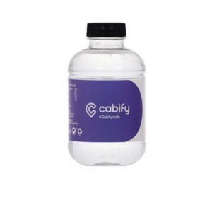 Bottiglia d'acqua personalizzata con etichetta in carta 25cl TBC101