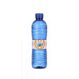 Bottiglia d'acqua personalizzata con etichetta carta 50cl