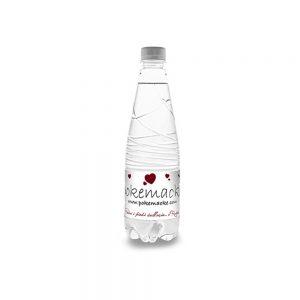 Bottiglia d'acqua personalizzata 50cl allungata in plastica