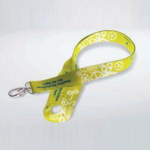 Lanyard personalizzato semplice in materiale pet