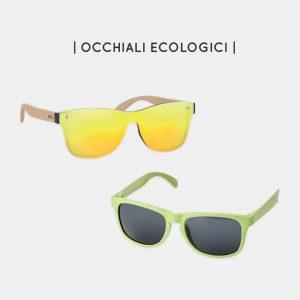 Occhiali da sole sostenibili e personalizzabili