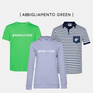 Abbigliamento green personalizzabile e sostenibile