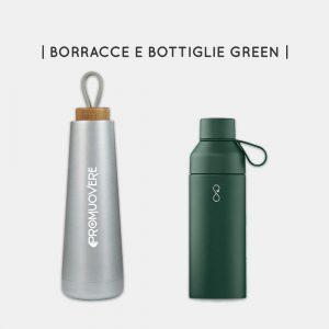 Borracce e bottiglie per il lavoro green