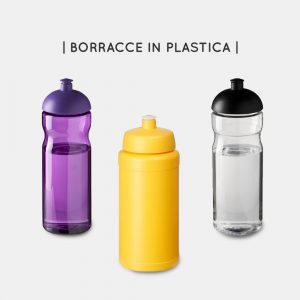 Borracce in plastica