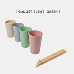 Gadget sostenibili per eventi personalizzabili
