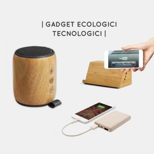 Gadget tecnologici ecologici aziendali