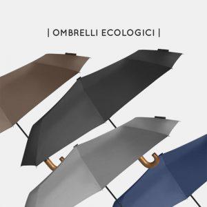 Ombrelli green sostenibili e personalizzabili