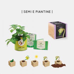 Semi e piantine personalizzabili ecologiche