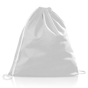 Zaino portatutto in cotone personalizzabile