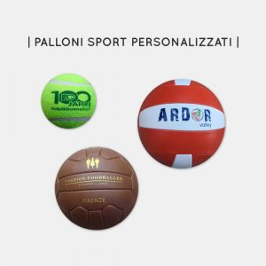 Palloni sport personalizzati