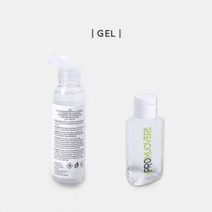 Gel igienizzate personalizzato e kit di protezione